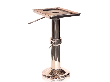 Stainless Steel Table Base with Slide